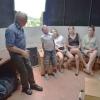 DSC6199.jpg, Gubicza László a kupolateremben tartott érdekes előadást a vendégeknek.