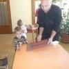 Madáretető készítés a közösségi házban
